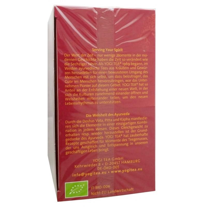 Yogi-Tee® Green Chai bio (17 Beutel) 30,6 g